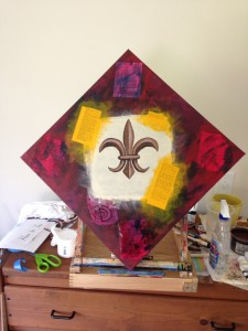 Power from a Thesaurus in yellow and fleur de lis