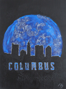 Columbus in Blue Jacket Colors