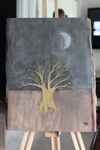 Gold Tree Silver Moon medium wood C