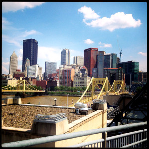 Its just a beautiful skyline on a beautiful day even if it was a rough game for the Bucs,