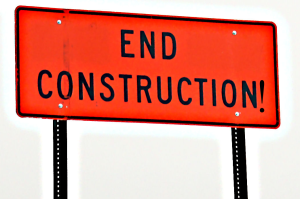 End construction!